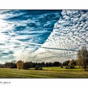 Herbstwolken über Westkirchen
