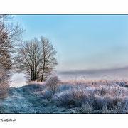 frostiger Morgen an der Rigge