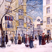 The lanes Brighton 1907