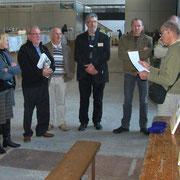 Réunion du club en présence de G Harter éleveur de Bagadais et Président de Metz