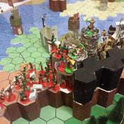 Die Orks attackieren Sapienta