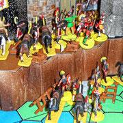 Die Krieger aus Bethmora umflanken das Hochland.