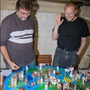Lars Verstand macht Winkewinke ...