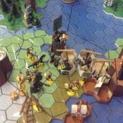 Tyrannos belagert die Stadt Kestavic