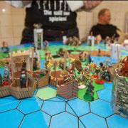Bogis erster sinnloser Angriff mit der Flotte.