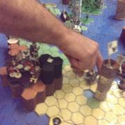 Kartazda lädt die Reiterei an Bord der Flotte
