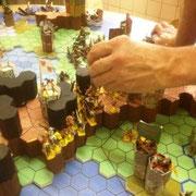 Angriff des Reichs der Mitte gegen Pons