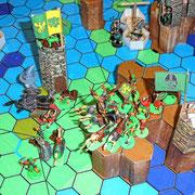 Ralfs Krieger besetzen das Hochland von Gualteka.