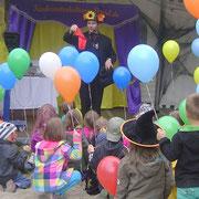 Kinderunterhaltung - Zauberer - Animateur Sachsen