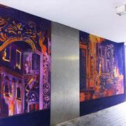 Wandbild Passage Chesterplatz Lörrach