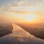 Kalverpolder zonsopkomst