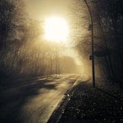 Straße nach Michendorf