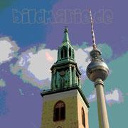 22.fm.-fernsehturm und marienkirche-posterart