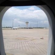ankunft flughafen