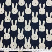 Bunny dunkelblau/grau