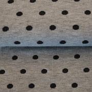 grau meliert/schwarz - uni schwarz innenseite