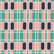Domino Plaid mint