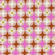 Retro Stars pink