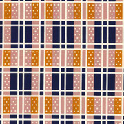 Domino Plaid navy