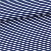 Marineblau/weiß