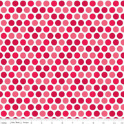 Dots red/pink