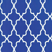 moroccan lattice cobalt