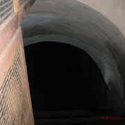 Hier ging es hinab in die Tunnel. #Zitadelle #Bitche #Ghosthunters #paranormal