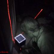Angelika legt noch ein Diktiergerät zur Aufzeichnung ab. #Ghosthunters #Geisterjäger #paranormal #Ghost