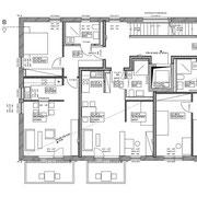 Ausschnitt Grundriss 1.Obergeschoss