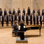 Melissa mit dem Chor
