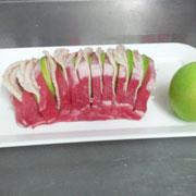 Arrosto di maiale farcito con pancetta alla mela verde