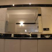 L'ampio specchio