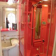 La doccia sauna