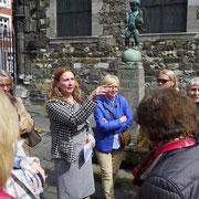 Die Präsidentin erklärt die Aachener Brunnen 04.2016