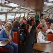 Grachtenfahrt Amsterdam / Clubreise Mai 2013