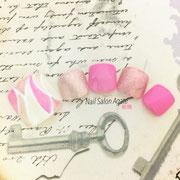 フットネイル板橋◆プッチネイル/春ネイル/パステルネイル/ピンクネイル