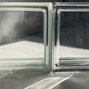 seves Pegasus Metallizzato Klar Q19 Vollsicht Metallisiert  Neutro Q19 T Met Clearview Glasbausteine Glasstein Glass Blocks Glasblock Glass Blokker France Glasblokke Briques Blocs de verre Glasblock Glasbaksteen België Glazen Bouwstenen Österreich Schweiz