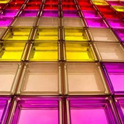 Mendini - GLASBAUSTEINE - GLASS BLOCKS - GLASSTEINE - BLOCOS DE VIDRO - BLOQUES DE VIDRIO – BRIQUES DE VERRE  - GLAZENSTENEN - GLASBLOKKEN - GLASDALLEN