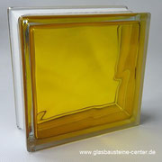 BRILLY Yellow 1919/8 Wave Glasbaustein Glass Blocks Glasstein Glasbausteine-center glasbausteine-center.de Glasbausteine Glassteine  BASIC gler blokkir Glazen bouwstenen Glas Stegels Glasdallen Glazen blokken Glasbaksteen Glas Blokke Glastegel Gelb