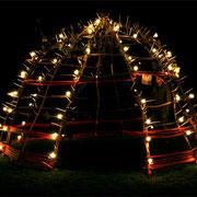 light - sound object at sound space garden