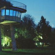 ight-sound installation - the mediator -  light promenade Lippstadt