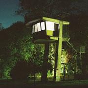 Licht-Klang Installation - der Mittler - Lichtpromenade Lippstadt