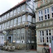 Viele schöne Fachwerkhäuser aus dem 16. bis 18. Jahrhundert im...