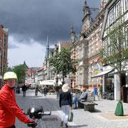Fussgängerzone durch die Altstadt.