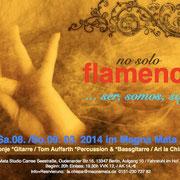 "Flyer zu ""Ser Somos Soy"" März 2014"