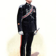 C Troop, Glamorgan Yeomanry.  private commission for presentation.