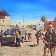 Iraq.  Commissioned by 1st Battalion, The Royal Anglian Regiment.