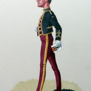 Officer, The King's Royal Hussars - private commission