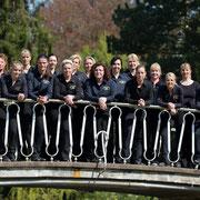 Die malerische Brücke haben wir dann natürlich gleich für ein Gruppenfoto genutzt.