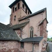 Eglise St Cyprien sur Dourdou